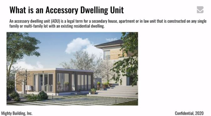 "Future Of Housing: ""What Is An ADU – Accessory Dwelling Unit?"" (Video)"