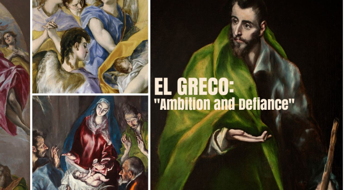 "Art Videos: ""El Greco: Ambition And Defiance"" (Art Institute Chicago)"