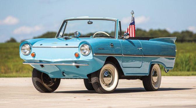 """Classic Autos: The """"1966 Amphicar Amphibious Car"""""""