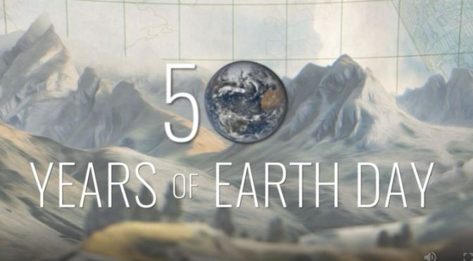 "Environment: ""NASA Looks Back At 50 Years Of Earth Day"" – April 22, 2020 (Video)"