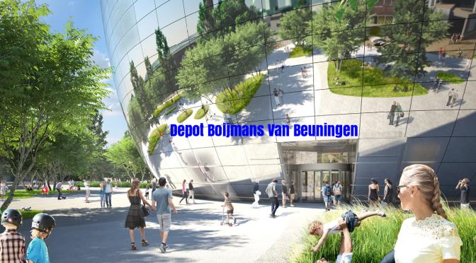 "World's Top Architecture: ""Depot Boijmans Van Beuningen"" To Open In 2021 (MVRDV Architects)"