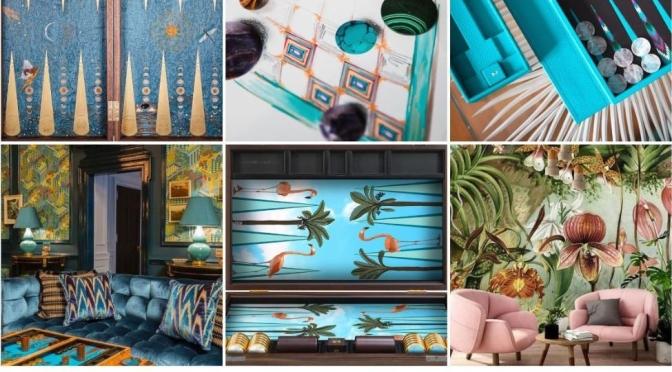 "Art Of Gaming: Designer Alexandra Llewellyn's ""Beautifully Original"" Backgammon Sets"