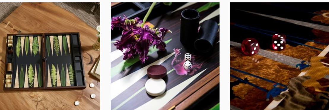 Alexandra Llewellyn Backgammon Collection