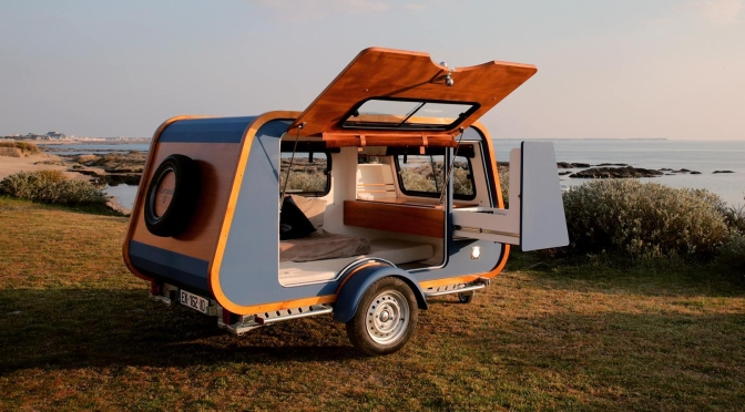 "Top New Camper Trailers: ""Carapate"" From France – ""Innovation, Design And Detailed Woodwork"""