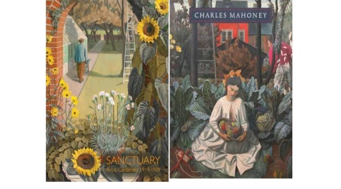 """Art Of The Garden: The Brilliant """"Sunflowers"""" Of British Painter Charles Mahoney (1903-1968)"""