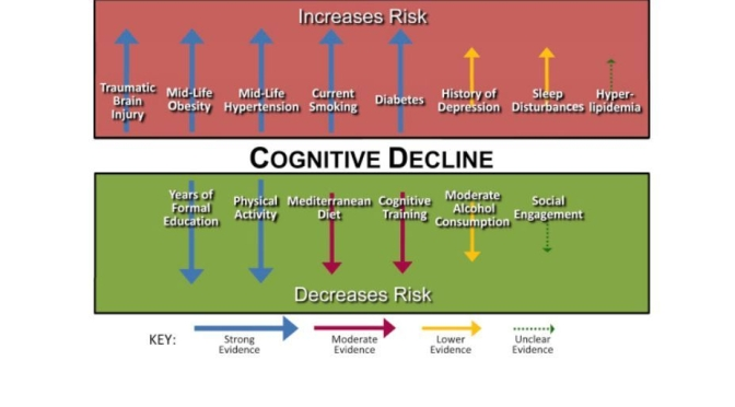 Health Study: Older Adults With High Glucose Levels (A1C) Have Greater Cognitive Decline