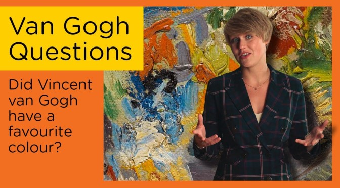 """Art Insider: """"Did Van Gogh Have A Favourite Color?"""""""