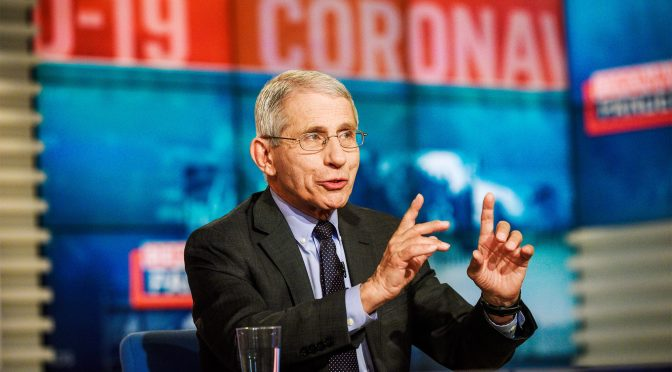 """Coronavirus / Covid-19: Dr. Anthony Fauci On """"How Life Returns To Normal"""" (WSJ Podcast)"""