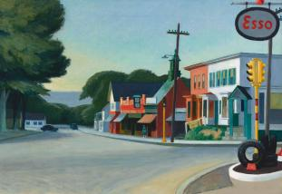 Edward Hopper Landscape Paintings