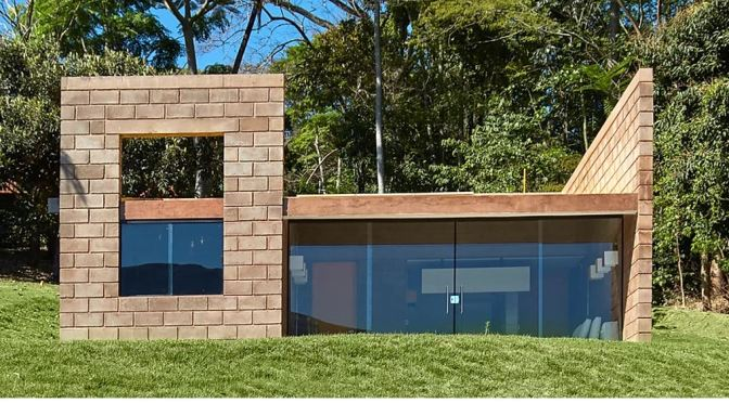 "International Design: ""Sustainable Home""  (484 SF) By Brazilian Firm Gustavo-Penna Architects (2019)"