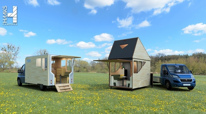 "Future Of Mobile Living: ""HAAKS Opperland Camper"" Easily Detaches From Chasis – ""Open Living Area"""