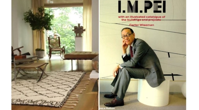 Design: Inside The New York Home Of Legendary Architect I.M. Pei (Video)