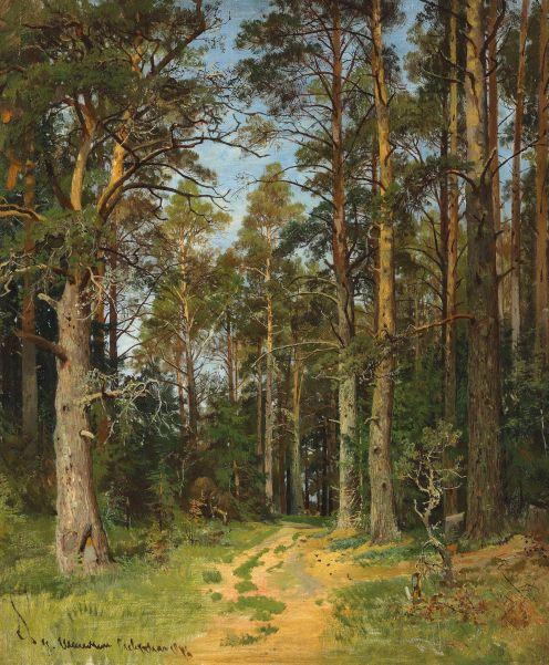 Ivan Shishkin Siverskaya 1896 Christie's