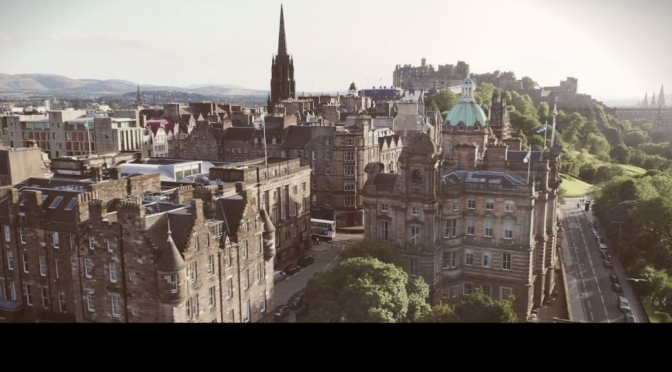 "Travel & The Pandemic: ""Lockdown // Edinburgh"" In Scotland (April 2020)"