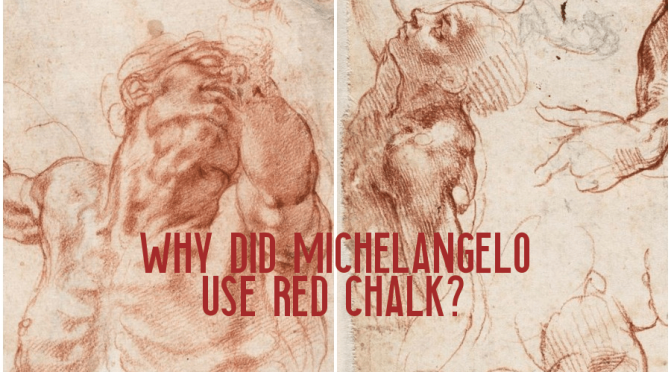 "Art Curator: ""Why Did Michelangelo Use Red Chalk?"" (Getty Museum)"