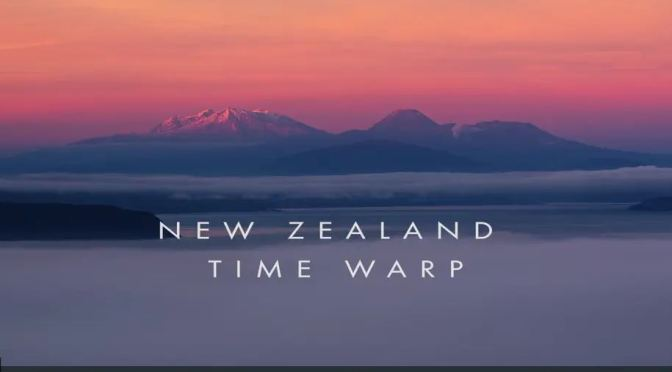 """Top New Travel Videos: """"New Zealand Time Warp"""" By Bevan Percival (2020)"""