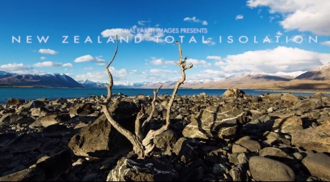 "New Timelapse Videos: ""New Zealand Total Isolation"" In 4K (Apr 2020)"