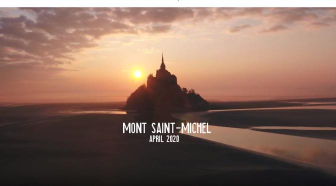 "Top New Travel Videos: ""Mont Saint-Michel"" In France (April 3, 2020)"
