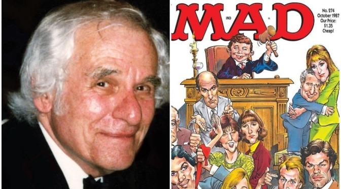 "Tributes: ""Mad Magazine"" Cartoonist Mort Drucker Dies At 91 (1929-2020)"
