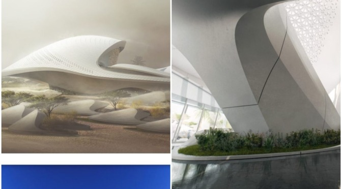 "World's Top Architecture: ""Bee'ah"" HQ In Sharjah, UAE (Zaha Hadid Architects)"