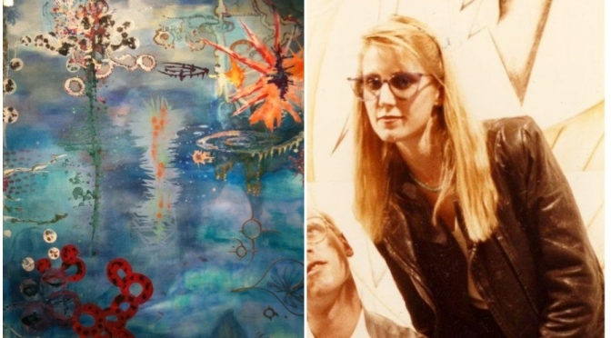 """Profiles: 66-Year Old American Painter Peggy Cyphers – """"Luminosity"""""""