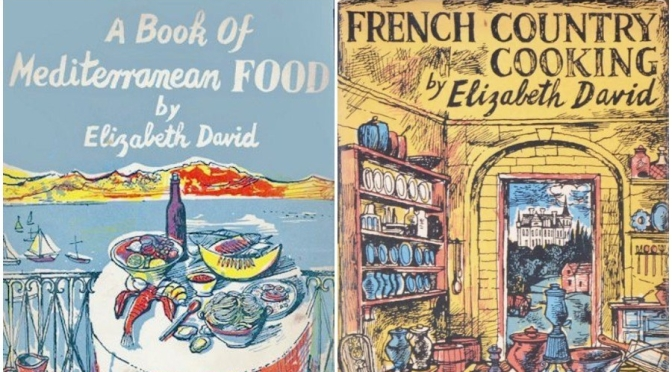 "1950's Artwork: English Painter John Minton's ""Lavish"" Food Book Covers"