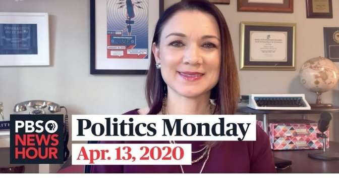 Politics Monday: Tamara Keith And Amy Walter On Joe Biden, Covid-19 (PBS)
