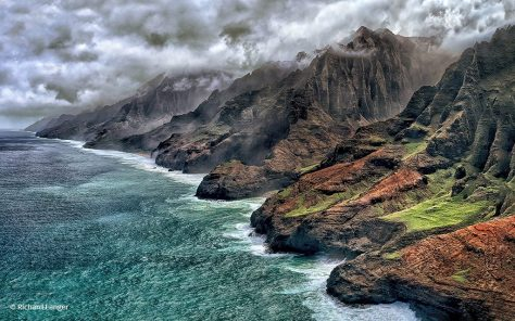 """2019 Great Outdoors Photo Contest"" Winner - ""Napali Storm"" By Richard Langer"