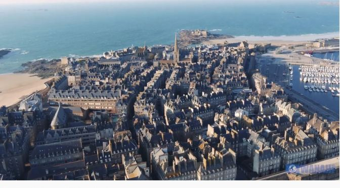 "Travel Videos: ""Saint Malo"" In Northern France (2020)"