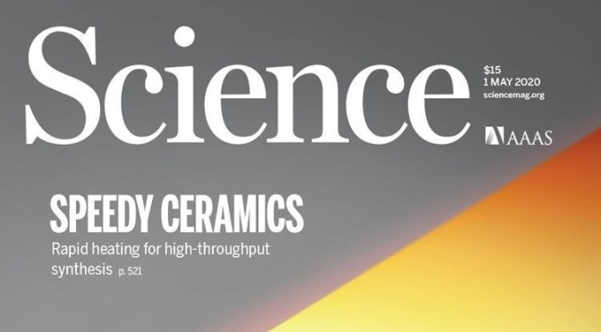 TOP JOURNALS: RESEARCH HIGHLIGHTS FROM SCIENCE MAGAZINE (MAY 1, 2020)