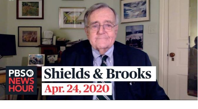 "Politics: ""Shields & Brooks"" On The Pandemic, Government Responses"