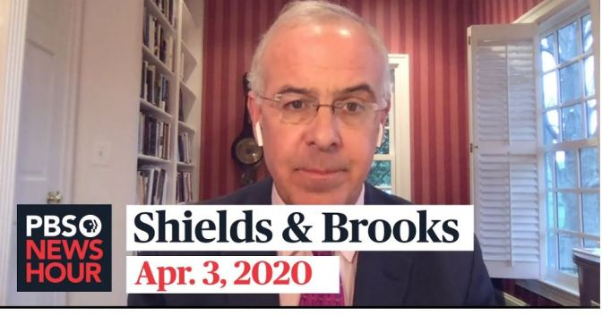 "News: ""Shields & Brooks"" On Coronavirus And Politics In Washington"