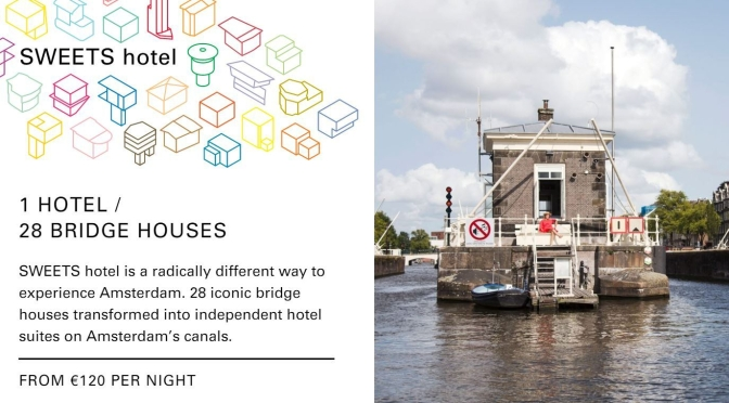 "Travel: The ""Sweets Hotel"" –  28 Bridge House Suites On Canals In Amsterdam"