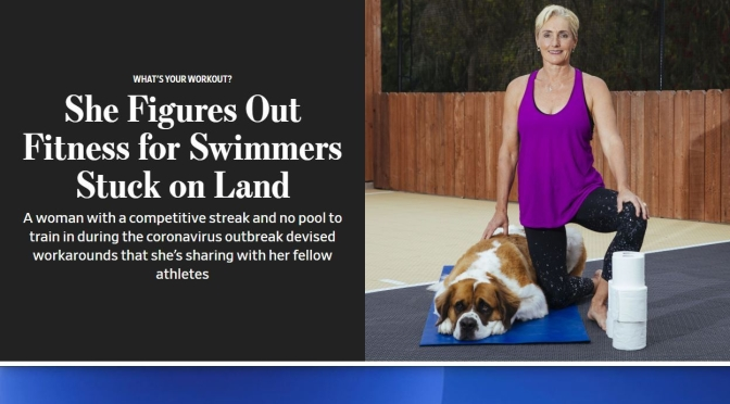 "Fitness: 55-Year Old Swimmer Creates New ""Land-Based Exercises"""