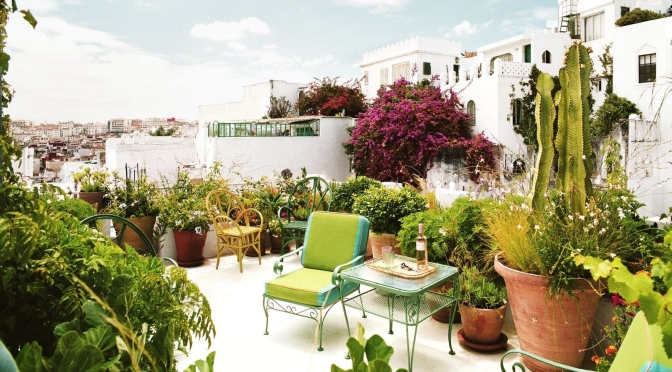 Travel & Architecture: Inside An Exotic Home In Tangier, Morocco (AD)