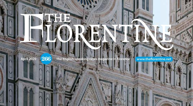 """International Magazines: """"The Florentine"""" – Italy April 2020 Issue Released"""