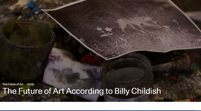 """Video Profiles: 60-Year Old British Painter-Author Billy Childish Talks About """"Th Future Of Art"""" (Artsy)"""