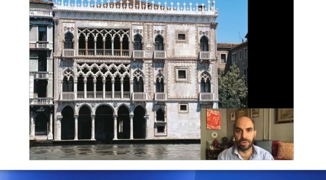 """Art History: """"Travels With A Curator – Ca' d'Oro Museum In Venice"""" (Video)"""