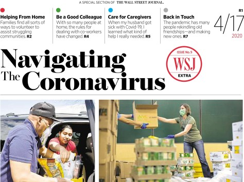 WSJ Special Section 4.17.20 - Navigating the Coronavirus-