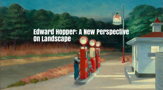 "New Art Books: ""Edward Hopper: A New Perspective on Landscape"" (April 2020)"