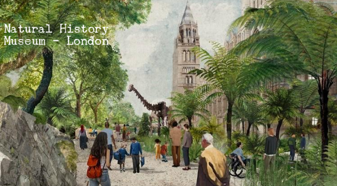 """Art & Landscape: Gardens & Grounds Of The Natural History Museum, London"""""""
