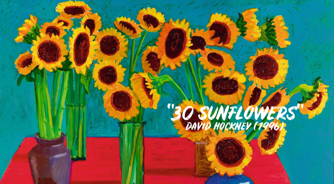 "Fine Art: ""30 Sunflowers"" By David Hockney (1996)"