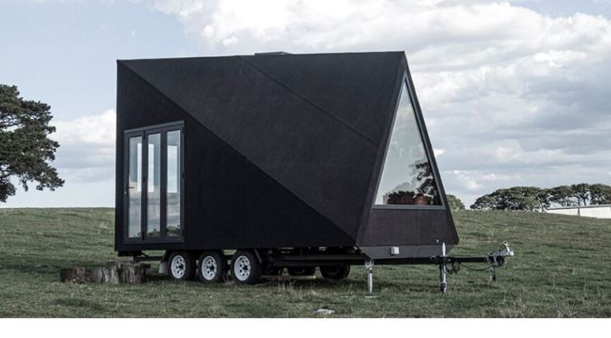 "Tiny Home Design: ""Base Cabin"" By Studio Edwards – ""Efficient Micro Living"""