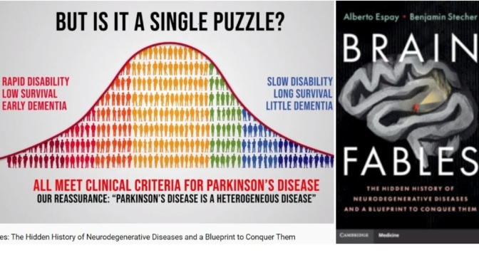 "New Books: ""Brain Fables – The Hidden History of Neurodegenerative Diseases"" (Cambridge, 2020)"