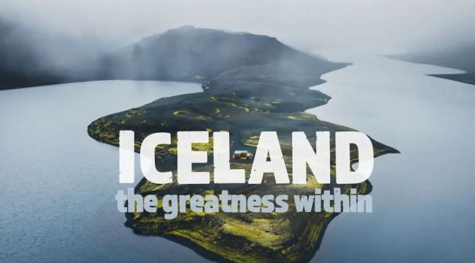 "New Aerial Travel Videos: ""Iceland – The Greatness Within 