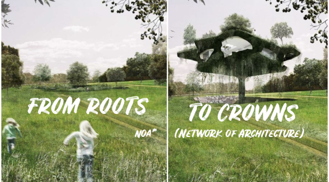 "Homes In Nature Design: ""From Roots To Crowns"" – Visionary ""Lifting House"" From Italian Studio NOA*"
