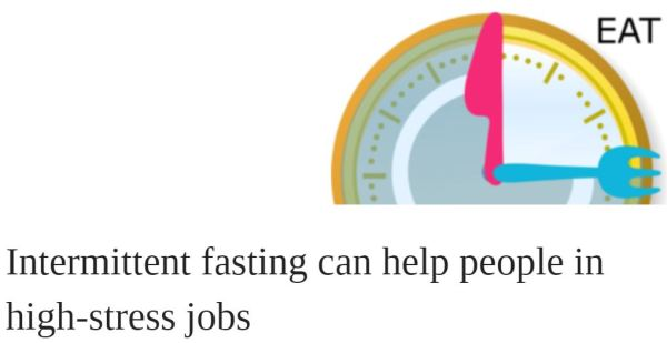 Intermittent Fasting Article in OUP May 1 2020