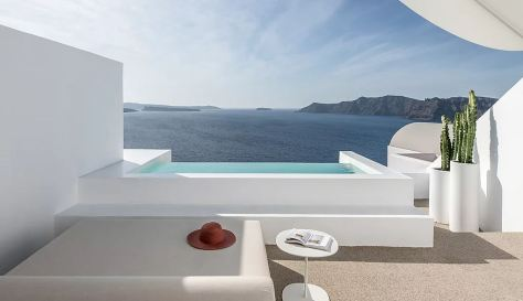 Kapsimalis Architects Saint Hotel Santorini Greece