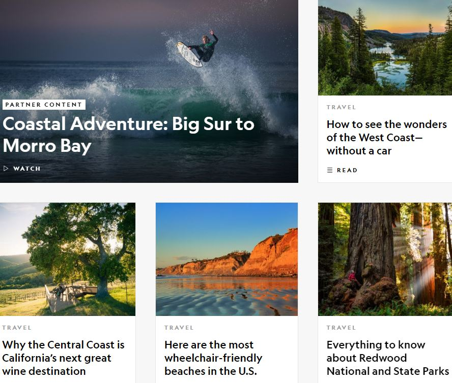 National Geographic - Destinations - California Travel Guide