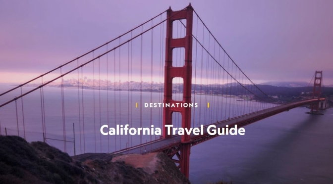 "Virtual Sightseeing: The ""National Geographic – California Travel Guide"""